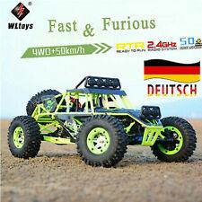 UrsprüNglich Wltoys 12428 1/12 4WD 2,4G Elektro-Brushed Crawler RC Auto Car DE