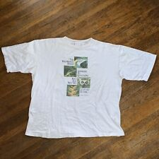 Vintage 1993 Wwf World Wildlife Fund Conservation Shirt Earth Day Planet Sz Xxl