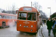 London Transport RF MXX489 Weybridge 1979 Bus Photo