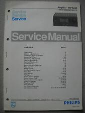 Philips 70 FA080 Verstärker Service Manual