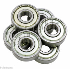 "6 Bearing R12 Zz Ball Bearings 3/4"" x 1 5/8"" R12Zz"