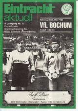 BL 82/83  Eintracht Braunschweig - VfL Bochum