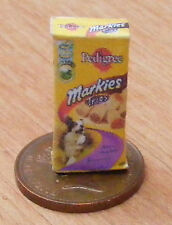 1:12 Scale Empty Dogs Food Packet Dolls House Miniature Markies Accessory