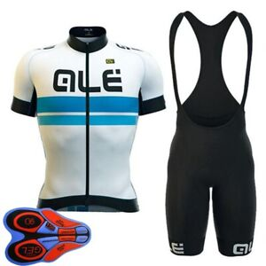 New Breathable Mens Cycling Jersey Set Short Sleeve Bike Outfits Sports Uniform