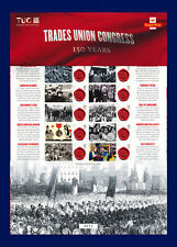 More details for 2018 css-37 10x1st trades union congress 150 years smiler sheet mnh bbzj