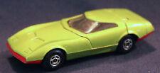 Original 1970 Lime Green Superfast Matchbox Dodge Charger MkIII