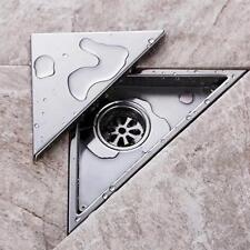 Bathroom 304 Stainless Steel Triangle Tile Tool Insert Shower Floor Drain Net