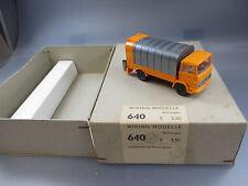 Wiking:Original Händlerkarton Nr.640 mit  1x Mb 1317 Müllwagen    (GK76)
