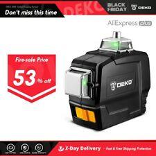 DEKO DKLL12PB Series 12 Lines Nivel Laser 360 Autonivelante Green Laser Level