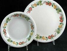 Wedgwood QUINCE Dinner Plate + Cereal Bowl GOOD CONDITION