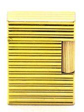 S.T. Dupont Feuerzeug Linie 1 Gold Lighter aus dem 70er Jahre