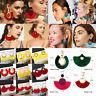 Women Bohemia Tassel Hook Hoop Erarrings Drop Dangle Earring Fashion Jewelry