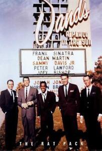 The Rat Pack Movie POSTER 27 x 40 Frank Sinatra, Dean Martin, Sammy Davis Jr, A