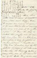 Civil War Letter: Postmaster Details Local Dead, Glorious Gettysburg, Vicksburg