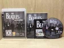 The Beatles Rockband PlayStation 3 PS3 Game Boxed Manual