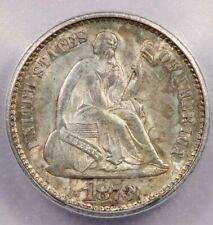 1873-P 1873 Liberty Seated Half Dime Closed 3 ICG MS 64