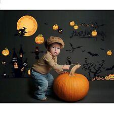 Halloween Removable Wall Decal Home Decor Kids Room DIY Stickers Mural Vinyl Art
