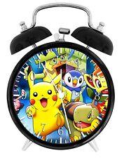 Pokemon Pikachu Alarm Desk Clock Home or Office Decor F89 Nice Gift