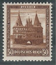 TIMBRE ALLEMAGNE    NEUF * CHARNIERE  N° 438 PORTE D HOLSTEIN  LUBECK