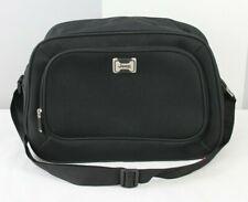 Jeep Black Nylon Carry On Shoulder Strap Duffle Messenger Travel Bag