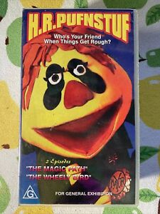H.F.Puffnstuff 70s Collectable Original 1998 VHS Double Episode Tape G