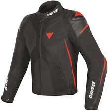 Veste Dainese Super Rider D-dry Jacket 48 Black/black/red-fluo