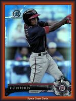 2017 Bowman Chrome Prospects Blue Refractor /150 Victor Robles #BCP73