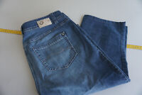 GERRY WEBER Roxane Damen bermuda Jeans capri stretch Hose W33 dünn blau #56