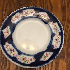 RUSSIAN Porcelain Plate  KYZNETSOVA FACTORY  Signed v Dubero (?)