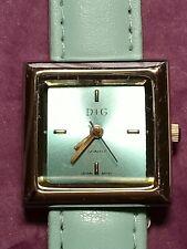D+G Ladies Quartz Watch. Excellent Condition. New Battery& Service (BC630)