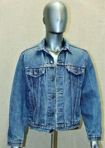 LEVIS denim trucker jacket vintage années 80 taille L made in France