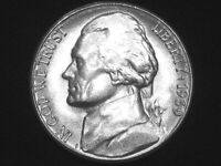 1939-S Jefferson Nickel --- Very Choice Uncirculated w/ Full Steps