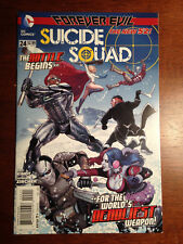 SUICIDE SQUAD # 24 NM 4TH SERIES NEW 52 HARLEY QUINN DEADSHOT POWER GIRL