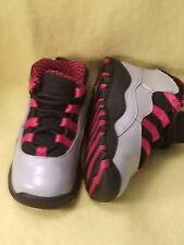 Nike Air Jordan Retro 10 Toddlers Boys Size 6C Shoes Gray Black Red