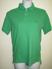 Genuine Vintage Ralph Lauren POLO Green Short Sleeved Polo Shirt - UK 8 Euro 36