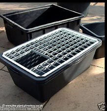 80cm Rectangular Water Feature Reservoir and Metal Grid