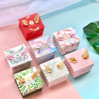 10pcs Candy Box Baby Shower Favours Gift Baptism Birthday Party Decor