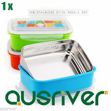 Stainless Steel Square Tupperware Lunchboxes & Bags