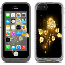 Skin Decal for Lifeproof iPhone 5C Fre Case / Gold Rose glowing