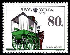 SELLOS TEMA EUROPA 1988  PORTUGAL AZORES  TRANSPORTES 1v.