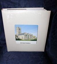 "Personnalisée photo album 13"" x 12"" book-bound traditionnel mariage satin #11"