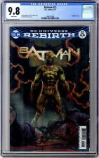 Batman #22 CGC 9.8 The Button * Lenticular 3D Variant Cover * Flash Crossover DC