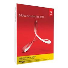 Adobe Acrobat Pro 2017 Software for Windows, Student  Teacher Edition, Boxed