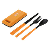 Separable Spoon Fork Chopstick and Picnic Tableware Necessity Kit Tableware Set