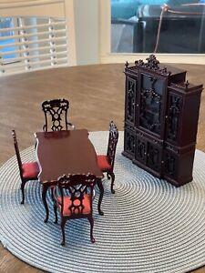 Bespaq Dollhouse Furniture Miniatures Dining Room 1:12 Charles II