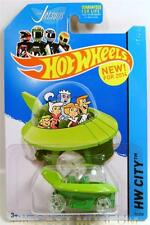 The Jetsons Space Capsule Cartoon Car Hot Wheels Hw Diecast New 2014 Rare