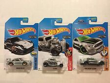 Hot Wheels 2017 ZAMAC Case L - Porsche 993 GT2, 32 Ford, Shelby GT350R Free Ship