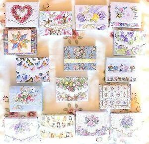 Carol Wilson Blank Note Card Portfolios ~~ Various Designs ~~ FREE SHIPPING ~~