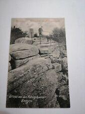 Alte Ansichtskarte Hochstein Königshain Görlitz