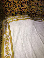 VERSACE MEDUSA BLANKET THROW NEW IN BAG AUTHENTIC ITALY ORIGINAL !!!SALE
